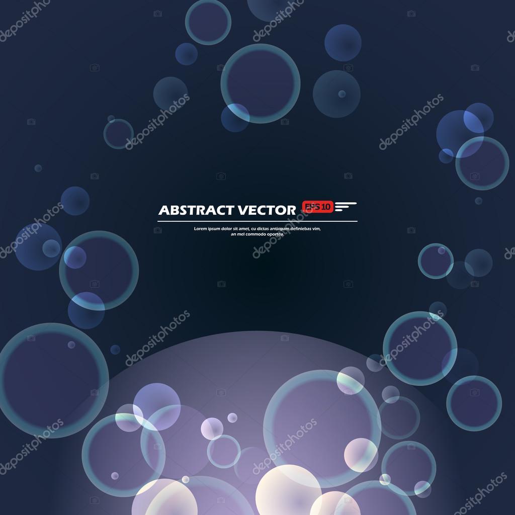 abstrakte komposition, textrahmen, glänzende punkte, sauerstoff