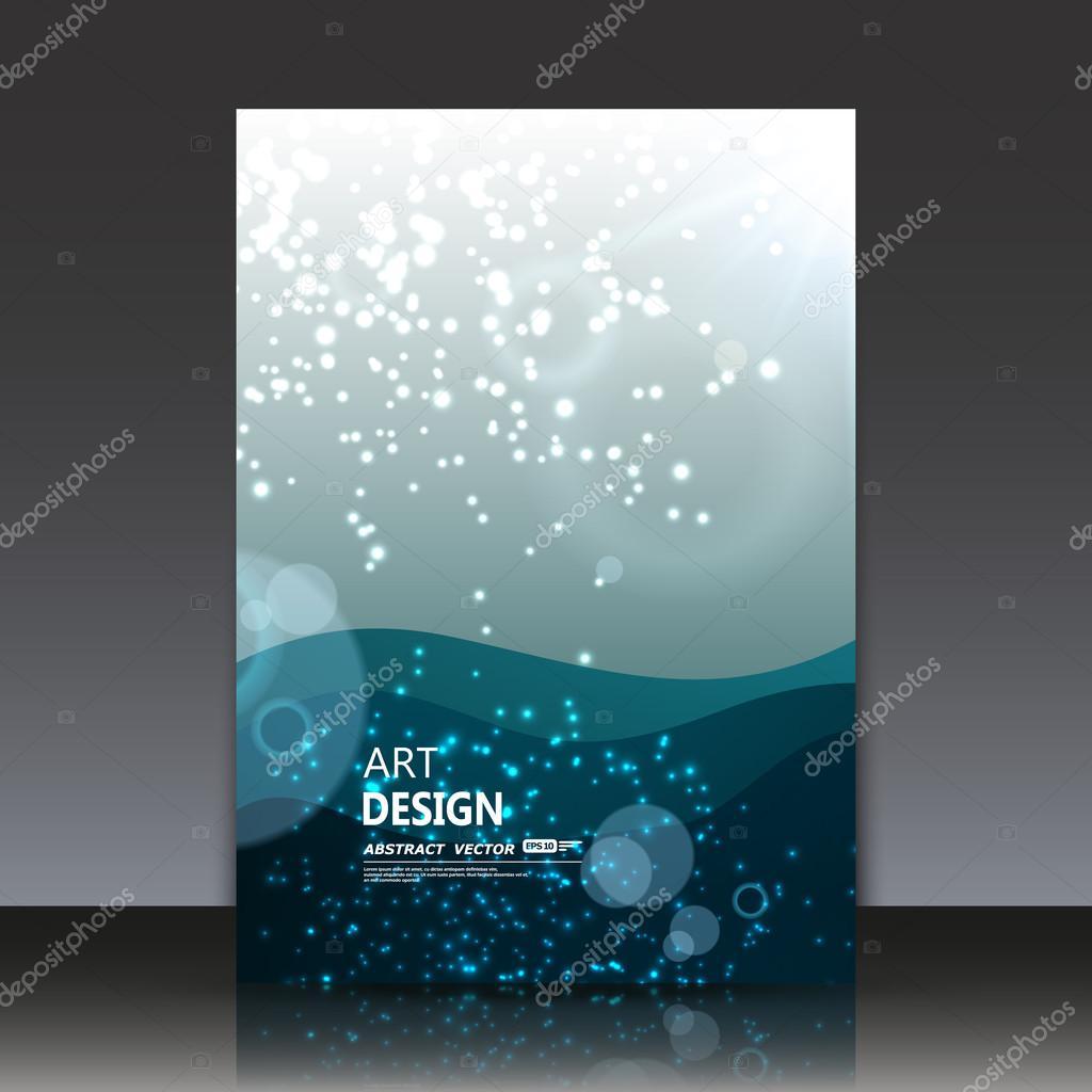abstrakte komposition, wasser kreis effekt-symbol, luft perle im