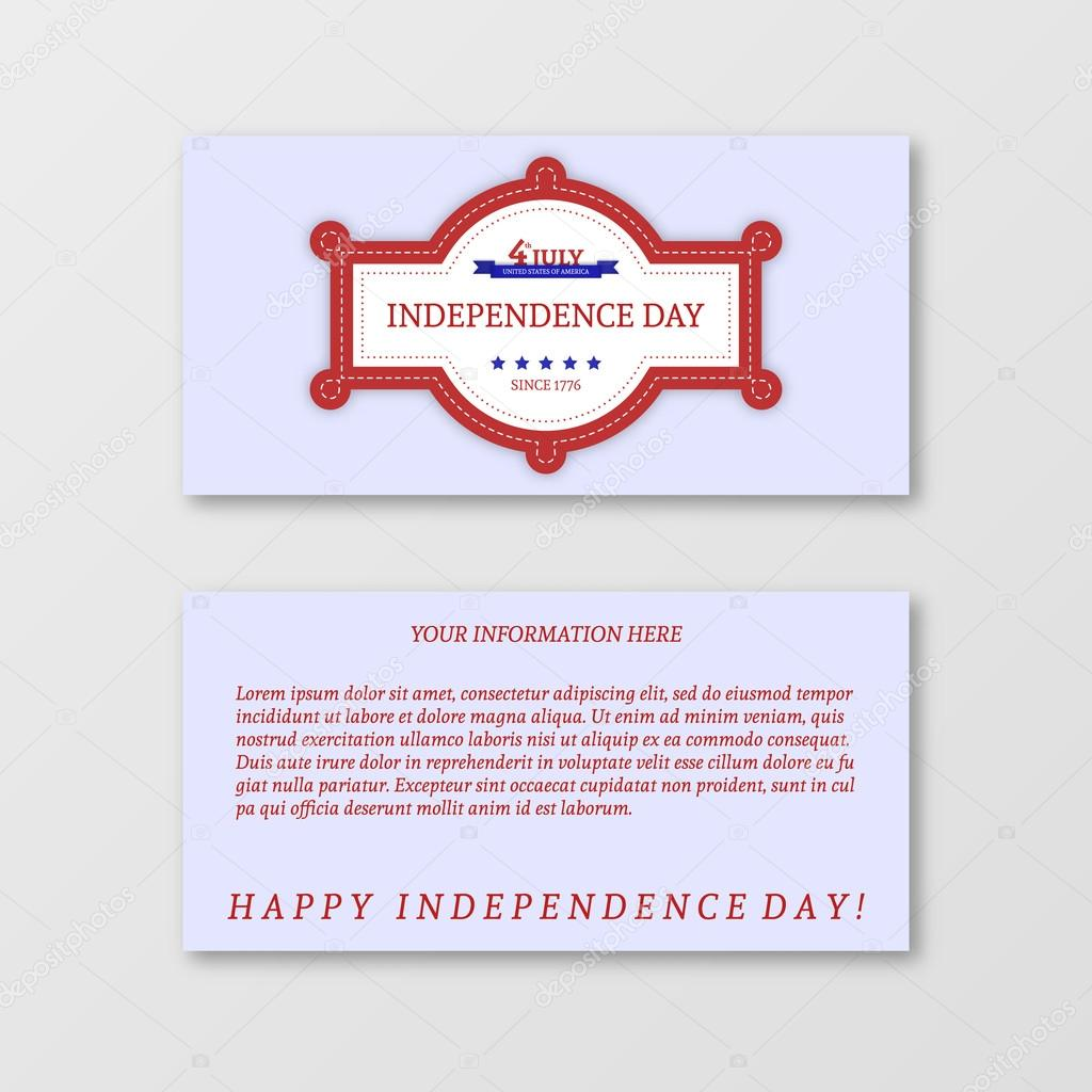 Gmail themes holiday - Paper Design For 4th Of July Theme Patriotic Holiday Banner Vector Illustration Greeting Cards Vector By Mopc Art95 Gmail Com