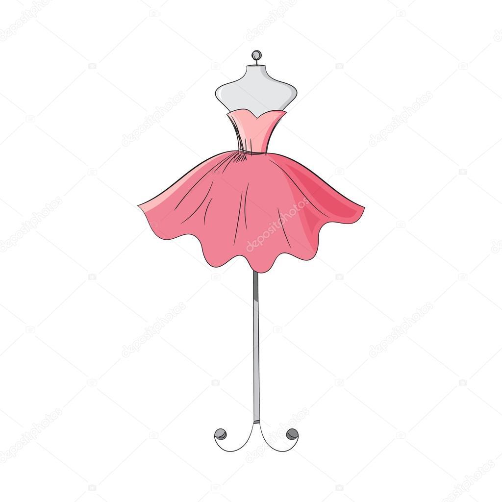 Макет платья