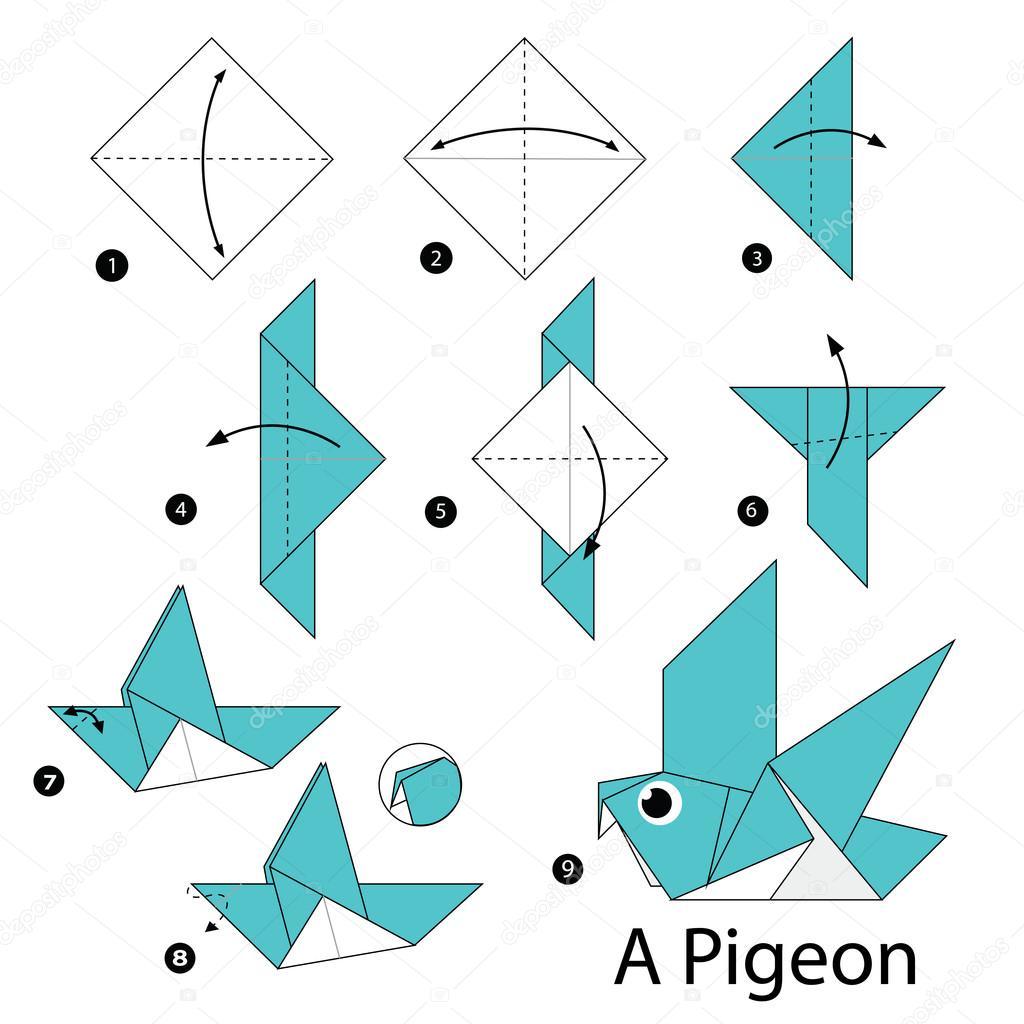 Origami Dress Step By Step