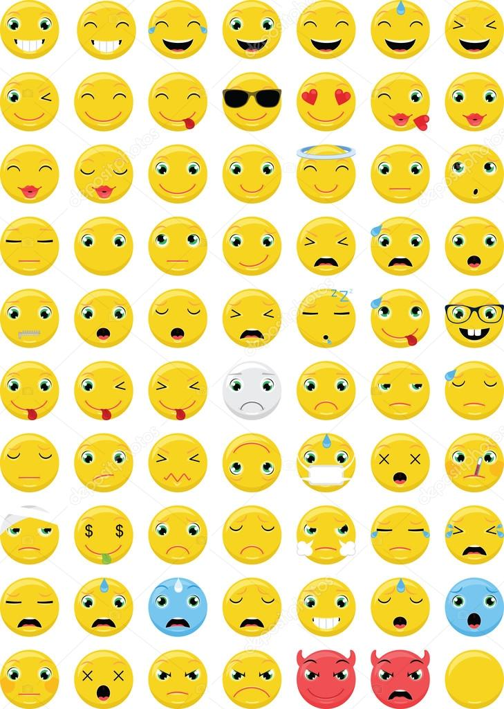 Emoticons Smiley Face Symbols  Alt Codes List of Alt Key