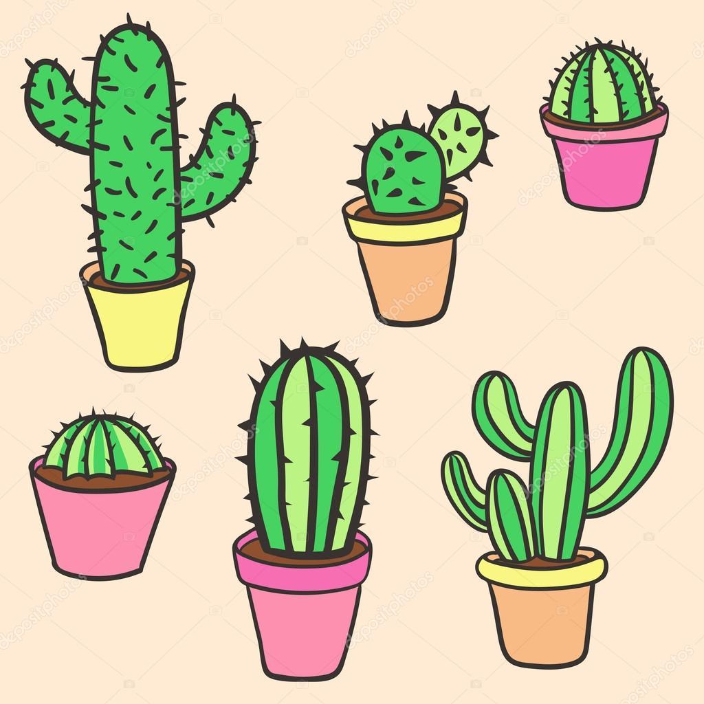 Нарисовать кактус своими руками