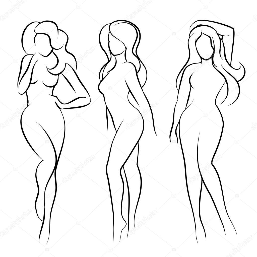 Nude Women Silouette 42