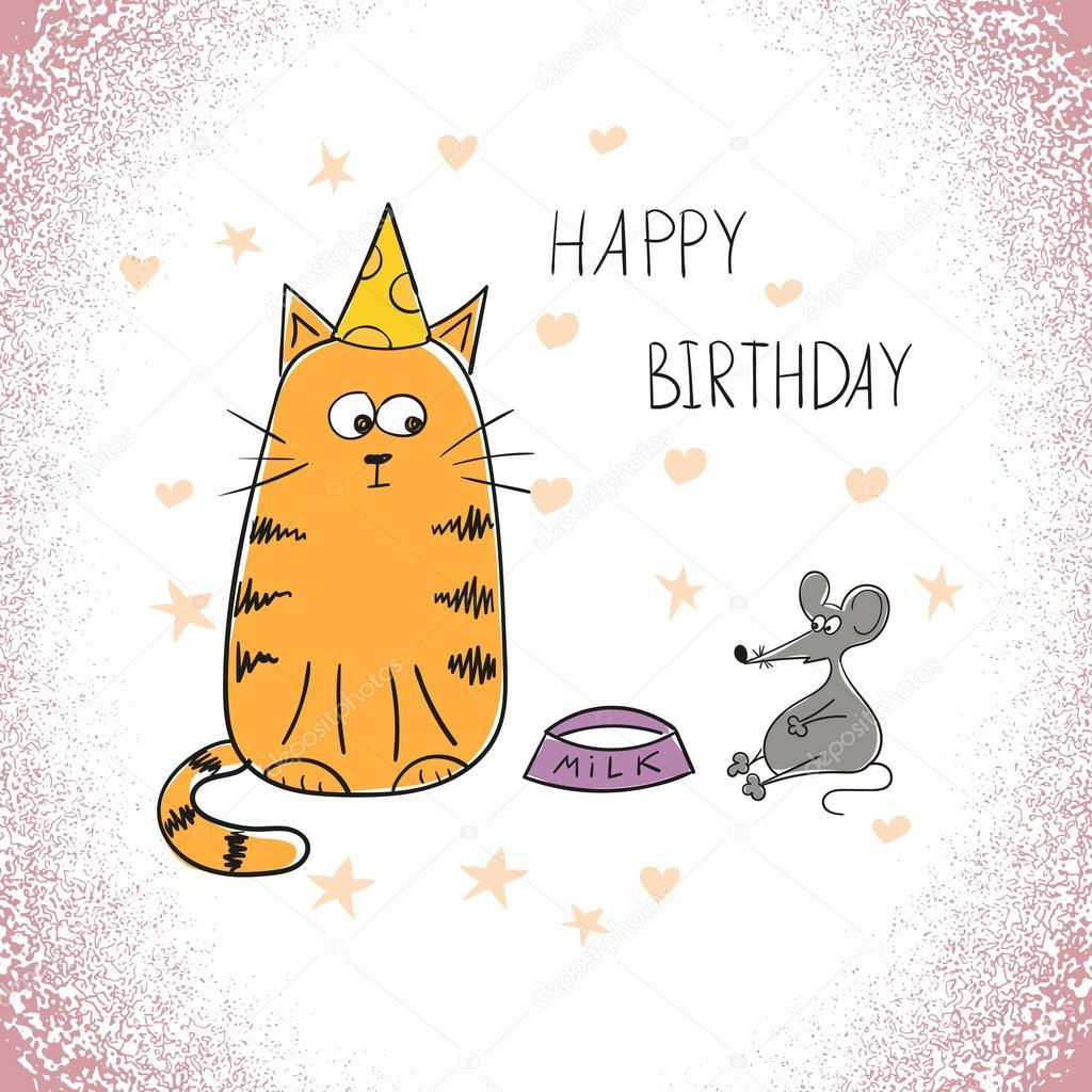 Что нарисовать на день рождения? Как нарисовать открытку 44