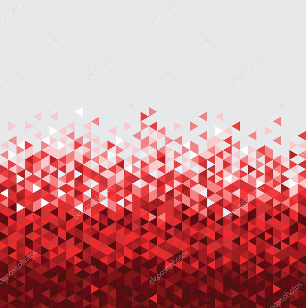 Abstract technology background red