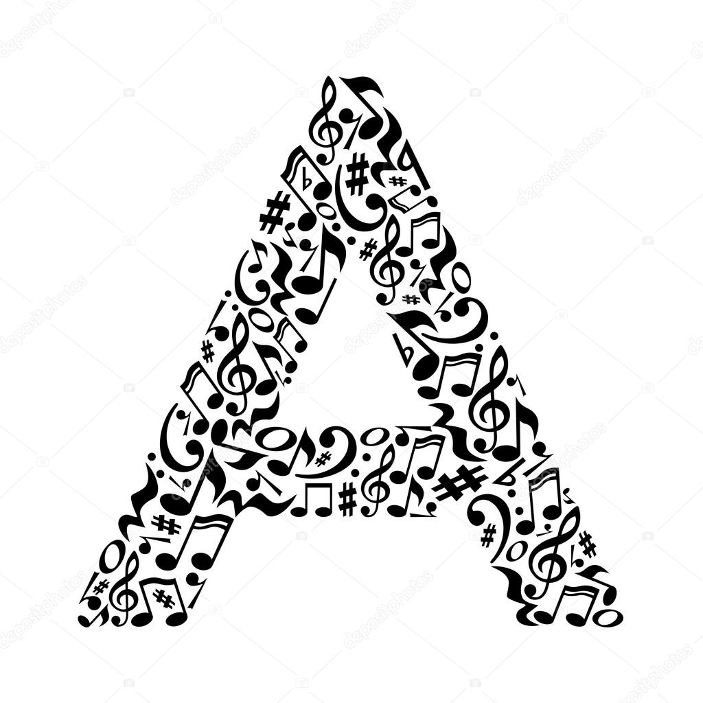 What Are The Letter Of The Musical Alphabet