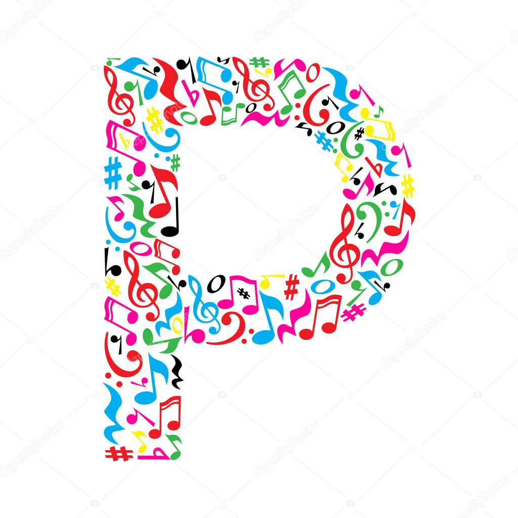 Musical Note  Letters