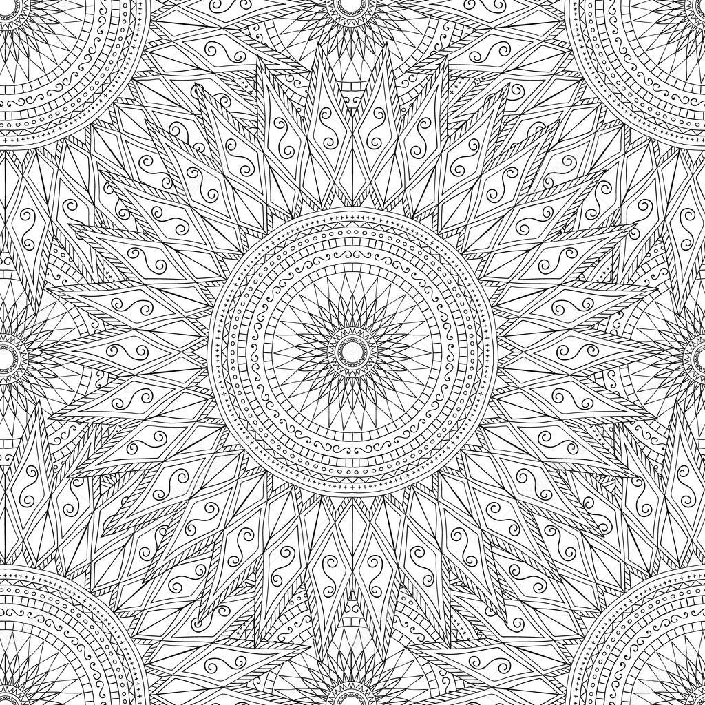 mandala mönster