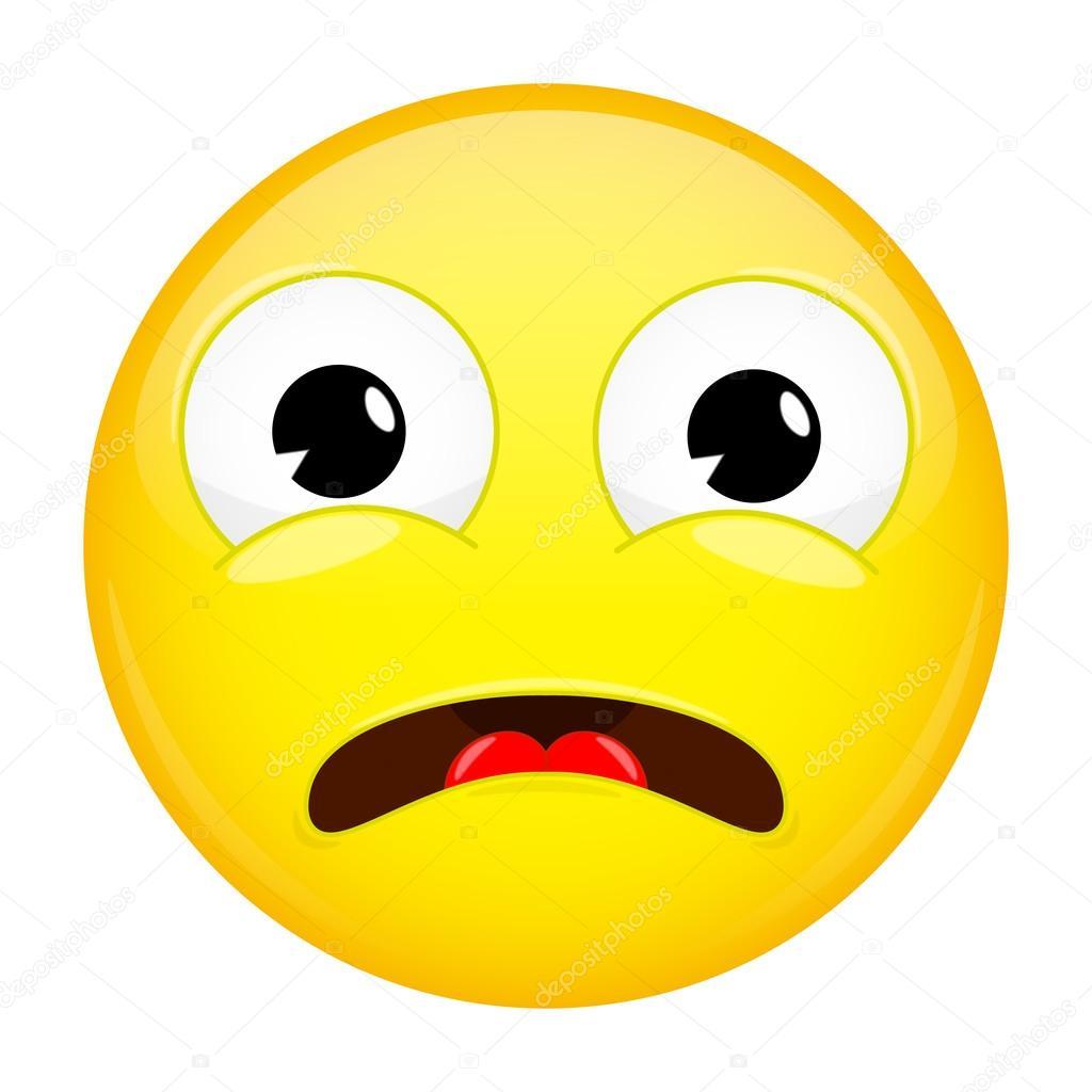 what emoji shock emotion surprise emoticon � stock