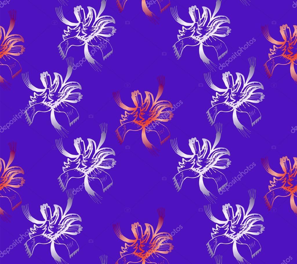 nahtlose abstrakte blumenmuster exklusive dekoration geeignet fr textilien stoff und verpackung stockvektor - Exklusive Dekoration