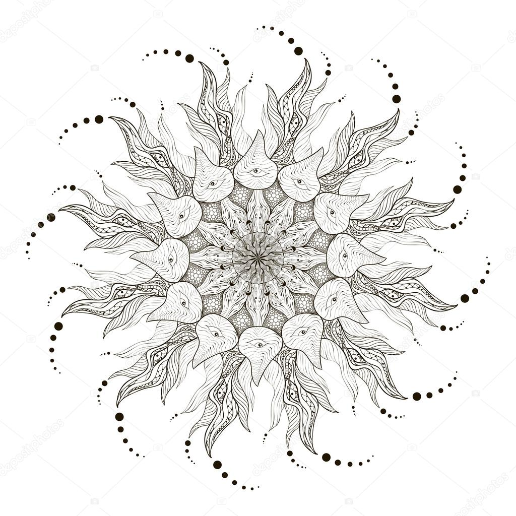 mandala vector mandala art mandala design mandala. Black Bedroom Furniture Sets. Home Design Ideas