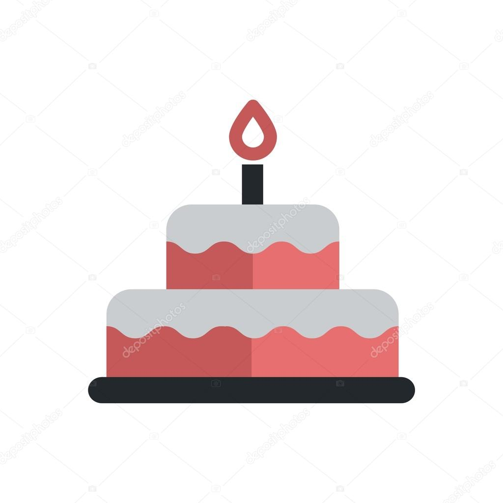Cake Vector Outline