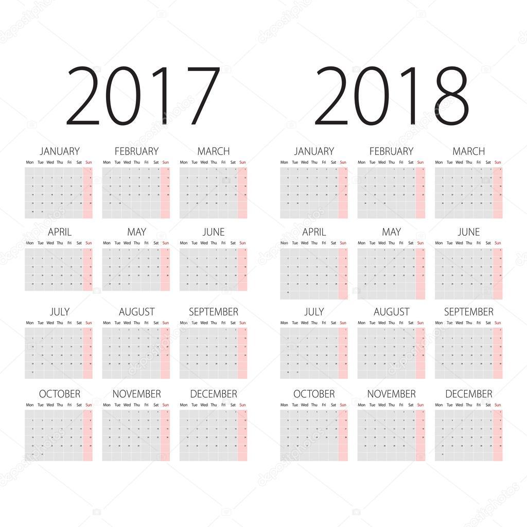Календарь именины 2017-2018