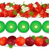Bezešvé hranice s ovocem