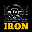 ������, ������: Periodic Table of the element Iron Fe