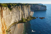 Scenic view of Etretat