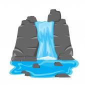 Között stone Waterfall