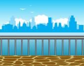 Írja be a város a tengerparton