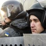 Постер, плакат: Financial Maidan protest in Kyiv