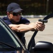 Постер, плакат: Policeman in the Institute for Police training Ukraine