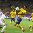 ������, ������: UEFA EURO 2012 game Sweden vs France