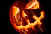 Halloween, old jack o lantern