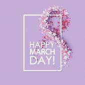 Frauen-Tag-Hintergrund
