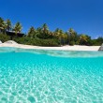 Постер, плакат: Picture perfect beach at Caribbean