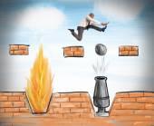 Podnikatel vede k překonání překážek