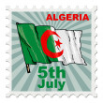 Постер, плакат: National day of Algeria