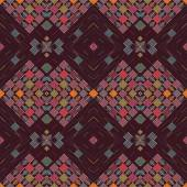 Bezešvé pozadí s geometrickými vzory tribal stylu na