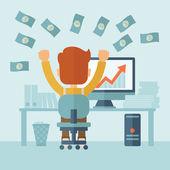 Úspěšný podnikatel se spoustou peněz
