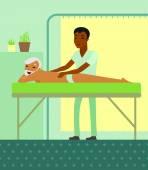 Zdravotní masáž série