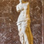 Постер, плакат: The Venus de Milo statue