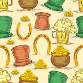 Happy St Patrick's Day celebration background