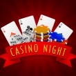 Постер, плакат: Different objects for Casino