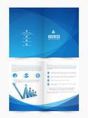 Stylový design obchodní leták nebo brožura
