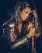 Porträt von mystischer Elf weiblich