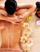 Dospělé ženy s masáž těla