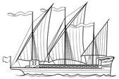 Vázlat yacht