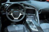 Interiér moderní auto