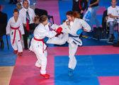Female karate fight