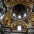 Постер, плакат: Interior of the Basilica Santa Maria Maggiore Cupola of Sistine Chapel Rome Italy