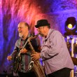 Постер, плакат: John Scofield and Joe Lovano Quartet playing live music at The Cracow Jazz All Souls Day Festival in The Wieliczka Salt Mine Poland