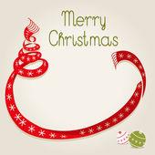 šála vánoční strom