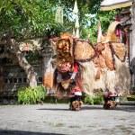 Постер, плакат: Barong Dance show Indonesian mythology perform