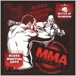 ������, ������: MMA Labels Vector Mixed Martial Arts Design