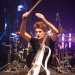 Постер, плакат: Bucharest Romania December 8: 2 Cellos famous Croatian cello duo performs at Sala Palatuluih