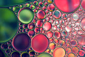 Oil drops abstract background